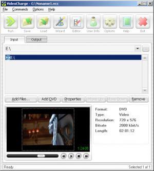 Enlarge Videocharge Screenshot