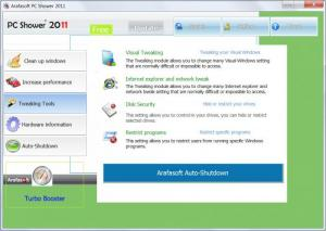 Enlarge PC Shower 2011 Free Screenshot