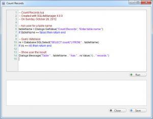 Enlarge SQLiteManager Screenshot