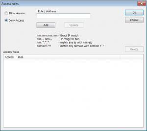 Enlarge Core FTP Server Screenshot
