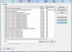Enlarge #1 Anonymous Proxy List  Verifier Screenshot