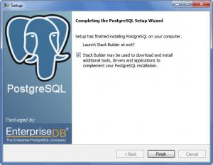 Enlarge PostgreSQL Screenshot