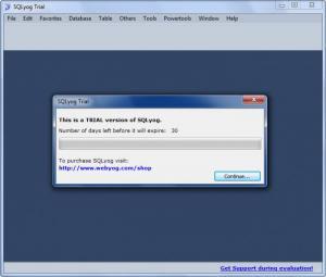 Enlarge SQLyog Screenshot