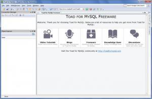 Enlarge TOAD for  MySQL Screenshot