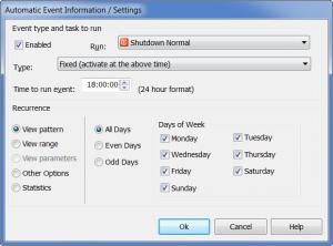 Enlarge Shutdown Manager and Tools Screenshot