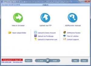 Enlarge ASPRunner Pro Screenshot