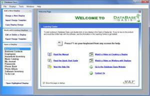 Enlarge Database Oasis Screenshot