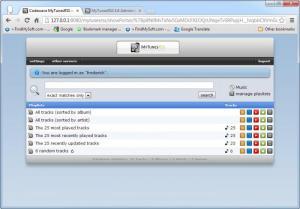 Enlarge MyTunesRSS Screenshot