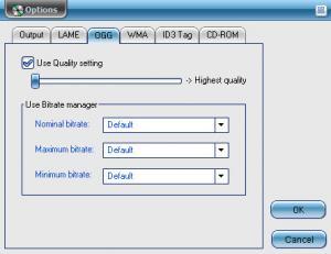 Enlarge CD Audio MP3  Converter Screenshot