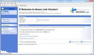 Enlarge Nesox Link Checker Free  Edition Screenshot