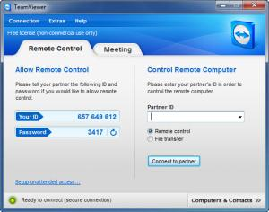 Enlarge TeamViewer Screenshot