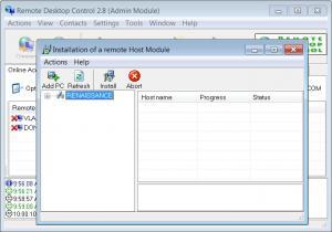 Enlarge Remote Desktop Control Screenshot