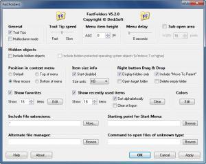 Enlarge FastFolders Screenshot