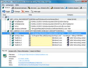 Enlarge RunAlyzer Screenshot
