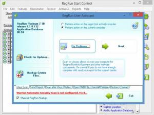 Enlarge RegRun Security Suite Platinum Screenshot