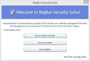 Enlarge RegRun Security Suite Platinum Screenshot