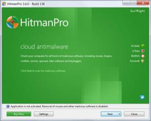 Enlarge HitmanPro Screenshot