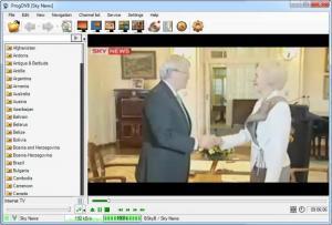 Enlarge ProgDVB Screenshot