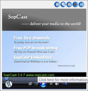 Enlarge SopCast Screenshot