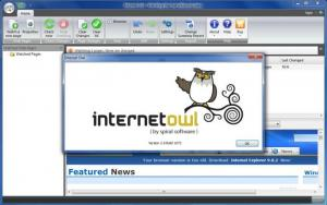 Enlarge Internet  Owl Screenshot