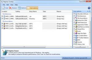 Enlarge Registry  TuneUp Screenshot