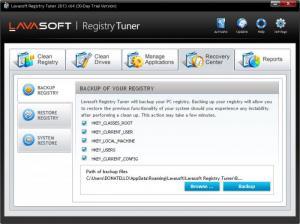 Enlarge Lavasoft Registry  Tuner Screenshot