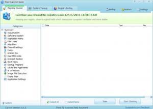 Enlarge Wise Registry  Cleaner Screenshot