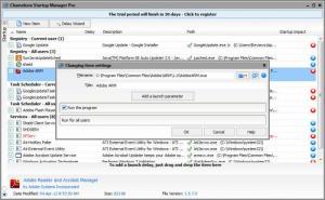 Enlarge Chameleon Startup  Manager Screenshot