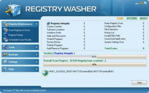Enlarge Registry  Washer Screenshot