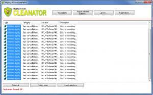 Enlarge MightyChicken  Cleanator Screenshot