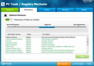 Enlarge Registry  Mechanic Screenshot
