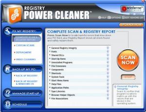 Enlarge Registry Power Cleaner Screenshot