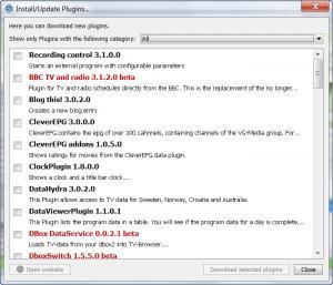 Enlarge TV-Browser Screenshot