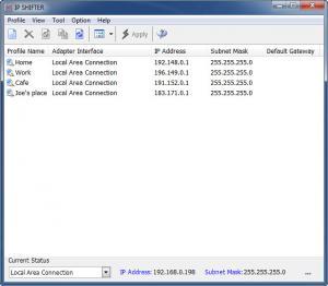 Enlarge IP Shifter Screenshot