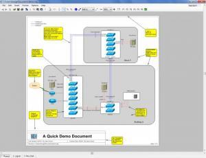 Enlarge Network  Notepad Screenshot