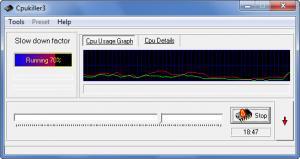 Enlarge Cpukiller3 Screenshot