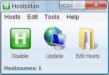 Enlarge HostsMan Screenshot