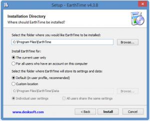 Enlarge EarthTime Screenshot