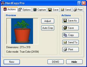 Enlarge HardCopy Pro Screenshot