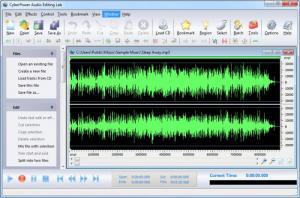 Enlarge CyberPower Audio Editing Lab Screenshot
