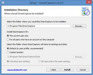 Enlarge SmartCapture Screenshot