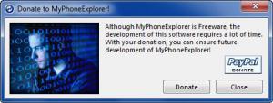 Enlarge MyPhoneExplorer Screenshot