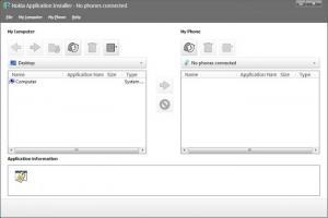 Enlarge Nokia PC Suite Screenshot