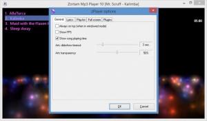 Enlarge Zortam Mp3  Player Screenshot