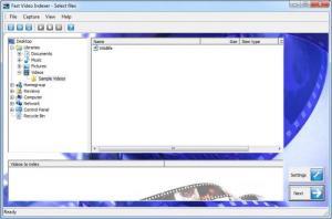 Enlarge Fast Video Indexer Screenshot