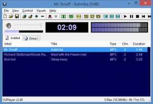 Enlarge VUPlayer Screenshot