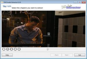 Enlarge DVD Audio Extractor Screenshot