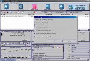 Enlarge Alt WAV MP3 WMA OGG Converter Screenshot