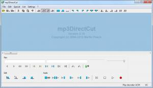 Enlarge MP3DirectCut Screenshot