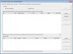 Enlarge Fast MP3 Cutter Joiner Screenshot